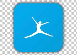 MyFitnessPal健身应用身体健康健康,条形码我爱你PNG剪贴画蓝色,