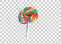 棒棒糖卡通糖果,彩虹棒棒糖PNG剪贴画食物,甜蜜,彩虹圈,彩虹背景,图片