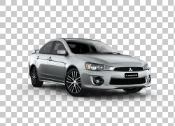 三菱汽车2016年三菱Lancer轿车,三菱PNG剪贴画紧凑型轿车,轿车,汽