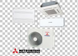 三菱汽车三菱重工空调空调三菱SRK35ZMP-S,重工业PNG剪贴画业务,