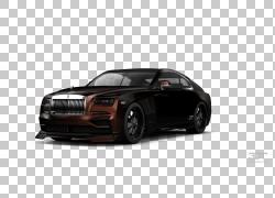 中型车豪华车Rolls-Royce Phantom VII汽车,调整PNG剪贴画紧凑型