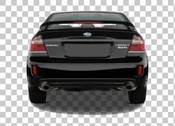 中型车2009 Subaru Legacy豪华车,斯巴鲁PNG剪贴画紧凑型轿车,轿