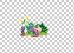 蚂蚁食物动画卡通,蚂蚁PNG剪贴画紫色,蜜蜂,电脑壁纸,草,花,豆,蚂