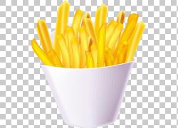 麦当劳的炸薯条快餐垃圾食品,薯条PNG剪贴画食物,烹饪,美食,薯条,