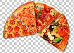 西西里披萨欧洲美食垃圾食品素食美食,免费披萨漂浮材料拉材料PNG