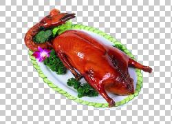 烤鹅北京烤鸭红色烹饪烤鸡,免费拉材料鹅PNG剪贴画免费Logo设计模