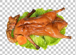烤鹅照烧肉,拉材料鹅PNG剪贴画免费Logo设计模板,食物,动物,海鲜,