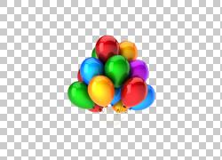 烧烤比萨党食物孩子,束气球PNG clipart假期,气球,漂亮,颜色,复活图片