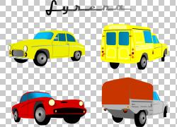 汽车皮卡车,各种汽车PNG剪贴画紧凑型汽车,汽车事故,老式汽车,卡
