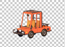 汽车皮卡车动画运动图形3D计算机图形,挖掘机PNG剪贴画3D计算机图