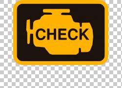 汽车汽车服务检查发动机灯汽车修理工,检查PNG剪贴画驾驶,文本,徽