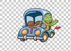 汽车拼图游戏车图,卡通龟PNG剪贴画卡通人物,动物,驾驶,漫画,虚构