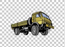 汽车商用车Jeep Dodge Truck,军用卡车材料PNG剪贴画杂项,运输方