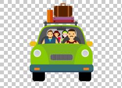 汽车旅行行李符号,旅行PNG剪贴画的人横幅,车辆,运输,旅行,旅游,