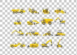 挖掘机PNG剪贴画角,卡车,汽车,生日快乐矢量图像,运输方式,车辆,