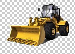 挖掘机卡特彼勒公司建筑工程重型机械叉车,挖掘机PNG剪贴画技术,