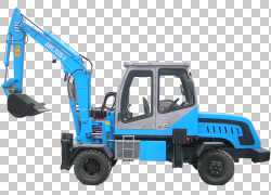 挖掘机拖拉机资源机,挖掘机PNG剪贴画蓝色,运输,车辆,挖掘机矢量,