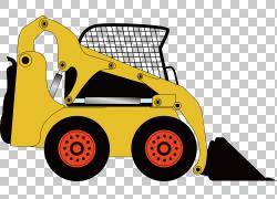 挖掘机铲卡通海报,市政小挖掘机PNG剪贴画技术,汽车,运输方式,封