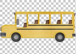 校车,巴士PNG剪贴画紧凑型轿车,校车,运输方式,运输,车辆,数字图