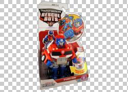 擎天柱变形金刚玩具Playskool汽车人,变形金刚救援机器人PNG剪贴