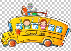 校车,巴士PNG剪贴画运输方式,公共交通工具,车辆,运输,公共汽车,