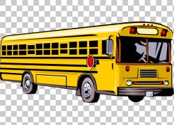 校车,旅行巴士的PNG剪贴画交通方式,公共交通,运输,车辆,公共汽车