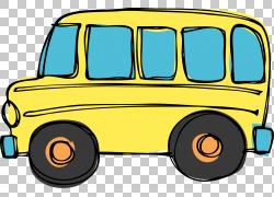 校车,旅行巴士的PNG剪贴画紧凑型轿车,老式汽车,汽车,校车,运输方