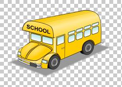 校车皮布尔斯高中巴士司机,巴士背景的PNG剪贴画紧凑型汽车,汽车,