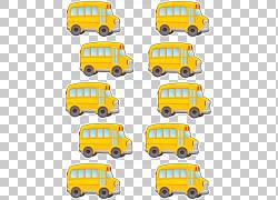 校车运输老师,巴士PNG剪贴画校车,运输方式,贴纸,车辆,运输,老师,