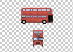 双层巴士出租车快速公交系列公共交通,双层巴士PNG剪贴画校车,汽