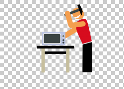 微波炉,微波修复PNG剪贴画厨房,电子产品,家具,服务,维修,修理工
