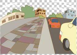 嘻哈音乐卡通,卡通彩绘街车PNG剪贴画水彩绘画,卡通人物,角度,海
