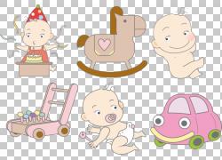 婴儿儿童卡通,卡通婴儿元素PNG剪贴画卡通人物,漫画,哺乳动物,婴