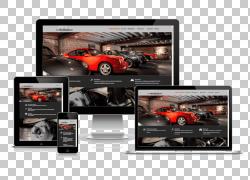 响应式网页设计Web开发Web开发人员,网页设计PNG剪贴画网页设计,