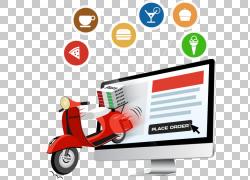 外卖在线食品订购食品送餐厅,增长PNG剪贴画杂项,食品,标志,其他,