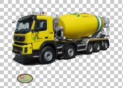 商用车水泥搅拌车卡车蒂芙尼灯货运,水泥PNG剪贴画运输,货物,运输