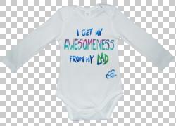 婴儿和幼儿单件T恤袖子紧身衣和单位活动衬衫,T恤PNG剪贴画T恤,蓝