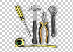 手工具绘图,修复工具PNG剪贴画施工工具,生日快乐矢量图像,修复工