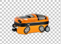 手提箱汽车后备箱,水平行李箱PNG剪贴画橙色,汽车,手提箱,车辆,手