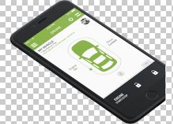 手机白金Motorwerks汽车智能手机电话,移动PNG剪贴画电子产品,小
