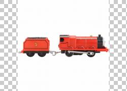 托马斯玩具火车和火车设置詹姆斯红色引擎Sodor,玩具火车PNG剪贴图片