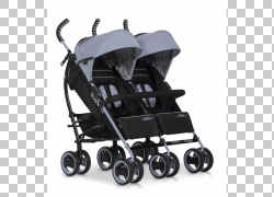 婴儿运输双胞胎婴儿和幼儿汽车座椅婴儿轮,婴儿车婴儿PNG剪贴画杂