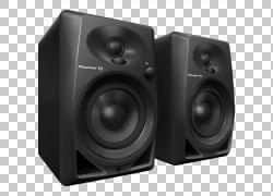 扬声器先锋DJ Pioneer Corporation Studio监听音乐节目主持人,转