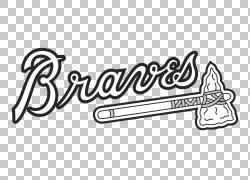 亚特兰大勇士MLB洛杉矶天使贴花贴纸,羽毛标志设计PNG剪贴画文本,