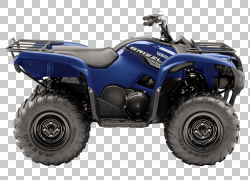 雅马哈汽车公司汽车全地形车四轮驱动摩托车,灰熊PNG剪贴画汽车,