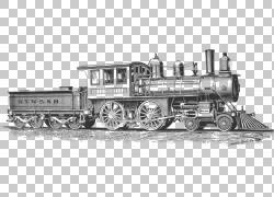 铁路运输火车蒸汽机车,铁轨PNG剪贴画运输方式,火车站,车辆,运输,