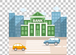 银行大楼金融技术金融,街道银行建设PNG剪贴画紧凑型汽车,建筑,文