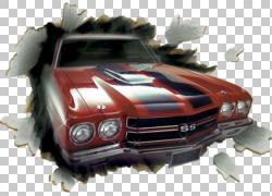 雪佛兰Chevelle汽车雪佛兰Camaro壁画,车外PNG剪贴画汽车事故,画,