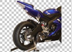 雅马哈YZF-R1排气系统雅马哈汽车公司汽车摩托车,汽车PNG剪贴画排