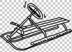 雪橇车雪,方向盘雪橇PNG剪贴画白色,文字,标志,汽车,单色,运输方